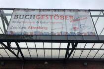 """Veranstaltungs-Banner """"Buchgestöber"""""""